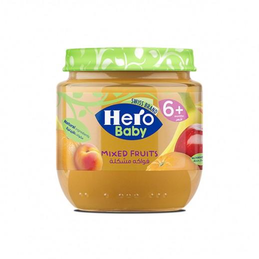 هيرو – طعام الأطفال بالفواكه المشكلة 125 جم