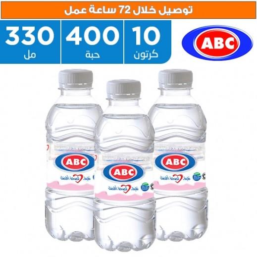أي بي سي - مياه شرب طبيعية 400 × 330 مل  - يتم التوصيل بواسطة ABC خلال 72ساعة عمل