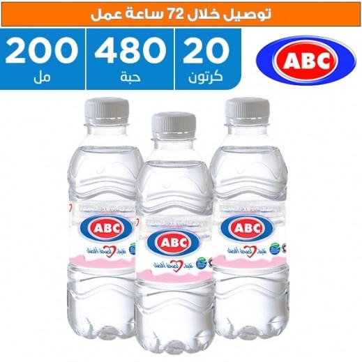 أي بي سي - مياه شرب طبيعية 480 × 200 مل  - يتم التوصيل بواسطة ABC خلال 96ساعة عمل