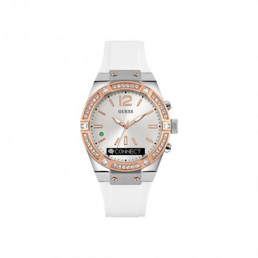 جيس - ساعة يد سمارت واتش للنساء، أبيض - يتم التوصيل بواسطة التوصيل خلال 2 أيام عمل بواسطة بيضون