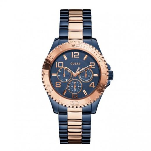 جيس - ساعة يد للنساء، أزرق × ذهبى - يتم التوصيل بواسطة Beidoun