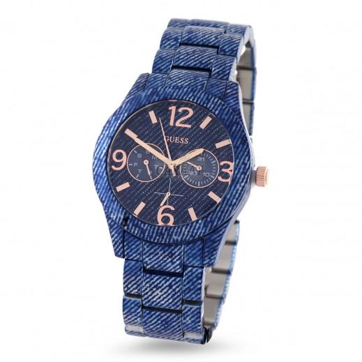 جيس - ساعة يد للنساء، أزرق - يتم التوصيل بواسطة Beidoun