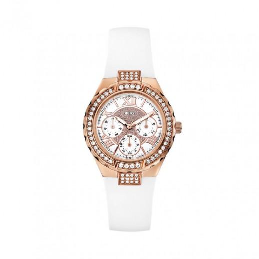 جيس - ساعة يد كرونوجراف للنساء، أبيض - يتم التوصيل بواسطة Beidoun