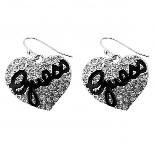 Guess Earrings Woman - يتم التوصيل بواسطة التوصيل بعد 4 أيام عمل بواسطة بيضون