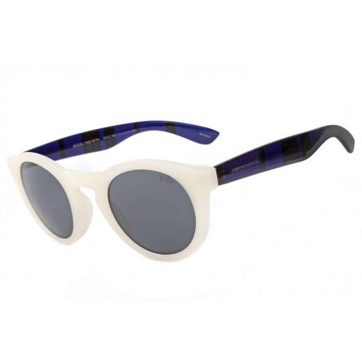 (OC.CL.1949.119) ,تشيلي بينز نظارة شمسية كلاسيكية للنساء أسود أبيض - يتم التوصيل بواسطة F3 Sunglasses