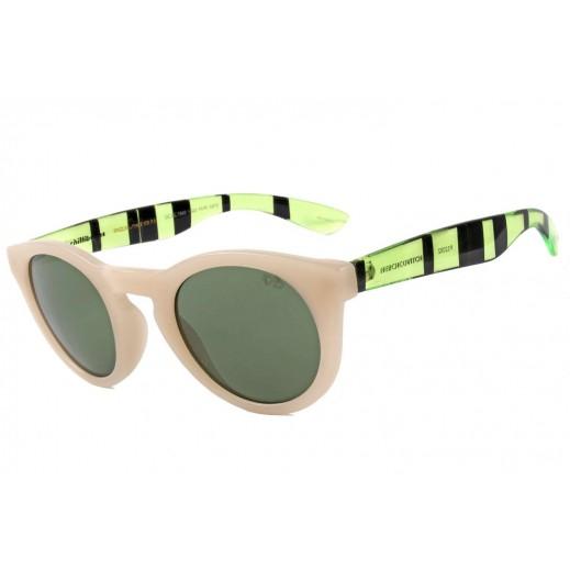 تشيلي بينز نظارة شمسية كلاسيكية للنساء أخضر رمادى, (OC.CL.1949.1523) - يتم التوصيل بواسطة F3 Sunglasses