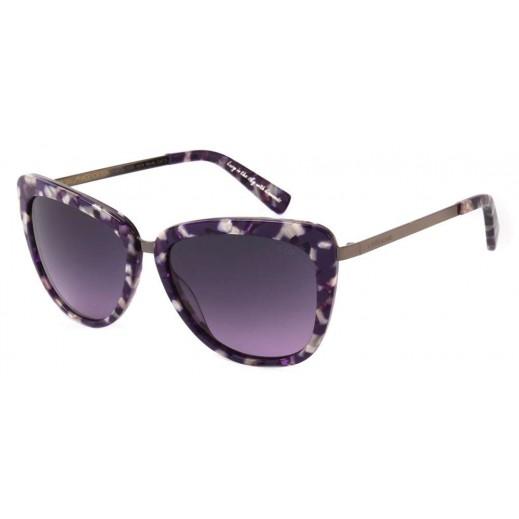(OC.CL.1835.1414) تشيلي بينز نظارة شمسية كلاسيكية للسيدات قرمزى    - يتم التوصيل بواسطة F3 Sunglasses