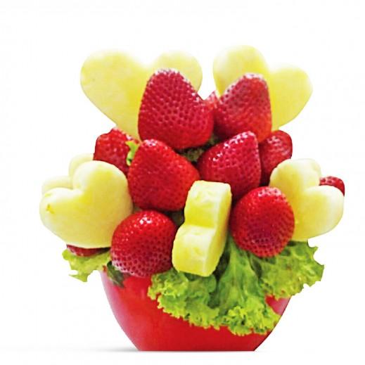 باقة ألوان الصيف - يتم التوصيل بواسطة Fruit Art