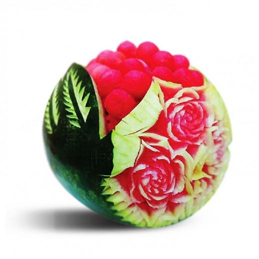 باقة الرقى - يتم التوصيل بواسطة Fruit Art