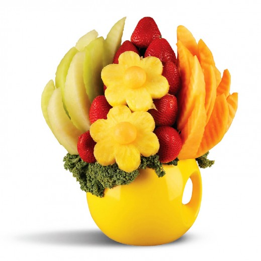 باقة الرضا - يتم التوصيل بواسطة Fruit Art