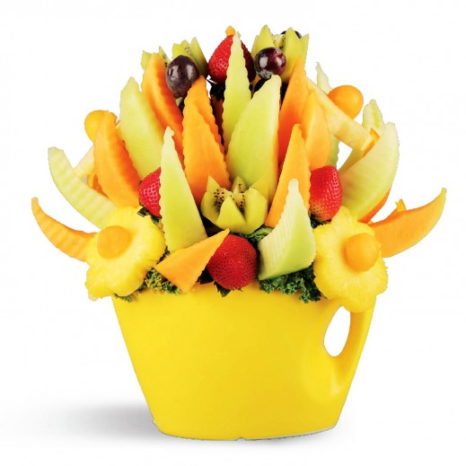 باقة اليوم المشمس - يتم التوصيل بواسطة Fruit Art