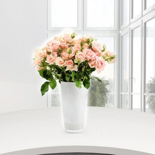 زهور بيبى روز وردية - يتم التوصيل بواسطة Gate Of Flowers