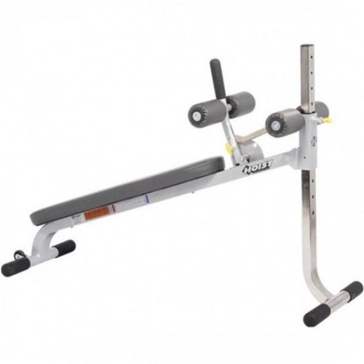 هويست – مقعد بلاتيني قابل للتعديل لتمارين البطن واللياقة البدنية (11 تمرين) - يتم التوصيل بواسطة Gym Doctor