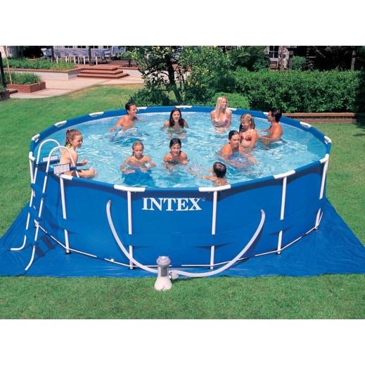 إنتكس – حمام سباحة دائرى 549×122سم - يتم التوصيل بواسطة سفاري هاوس خلال 2 أيام عمل