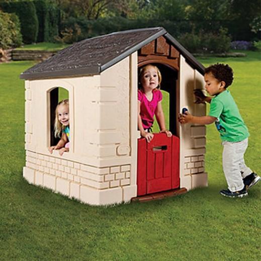 ليتل تايكس – كوخ الحديقة السري للأطفال - رمادي - يتم التوصيل بواسطة Safari House