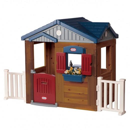 ليتل تايكس – لعبة كوخ بيت المرح الخشبي   - يتم التوصيل بواسطة سفاري هاوس خلال 2 أيام عمل