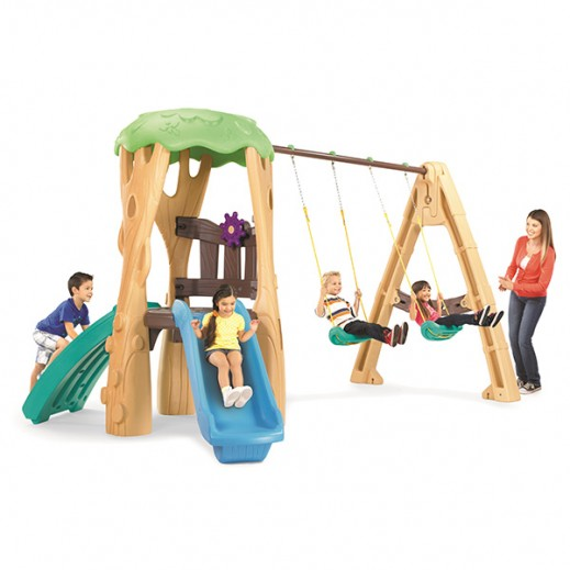 ليتل تايكس – مجموعة لعب بيت الشجرة - يتم التوصيل بواسطة Safari House