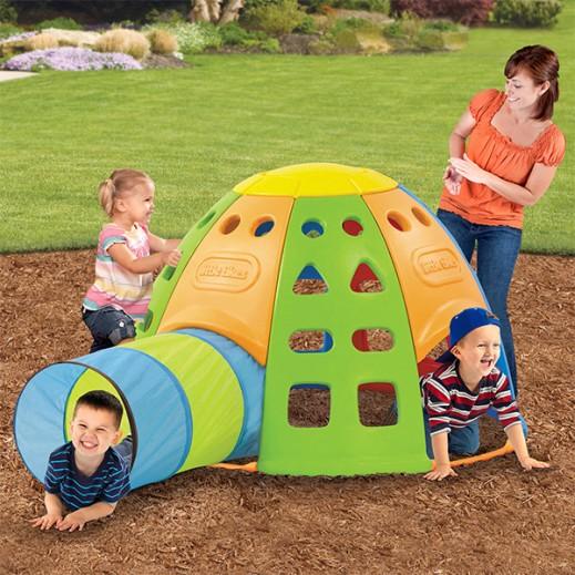 ليتل تايكس – لعبة تسلق القبة للأطفال - يتم التوصيل بواسطة Safari House