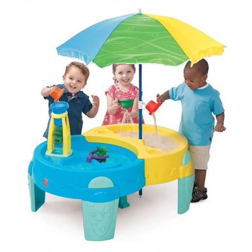 ستيب2 – طاولة اللعب بالرمل والماء الواحة الظليلة - يتم التوصيل بواسطة شهاليل خلال 2 أيام عمل