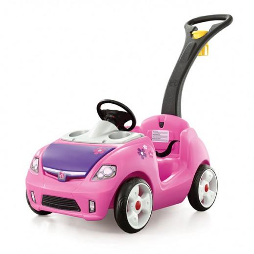 ستيب2 – سيارة التسوق باللون الزهري - يتم التوصيل بواسطة شهاليل خلال 2 أيام عمل