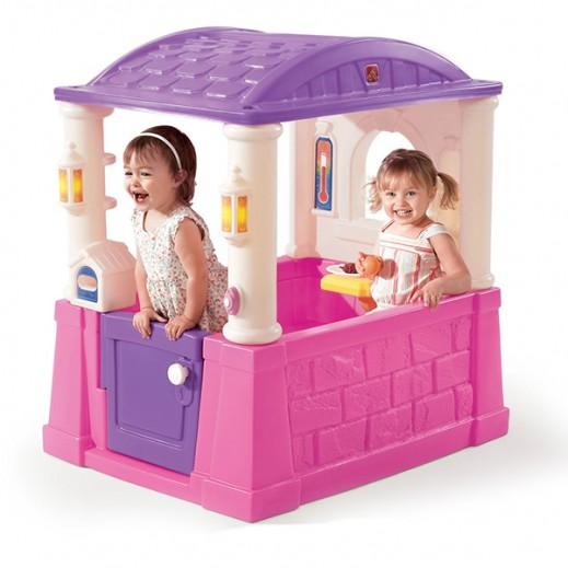 ستيب2 – بيت اللعب الفصول الأربعة باللون الزهري والأرجواني - يتم التوصيل بواسطة شهاليل خلال 2 أيام عمل