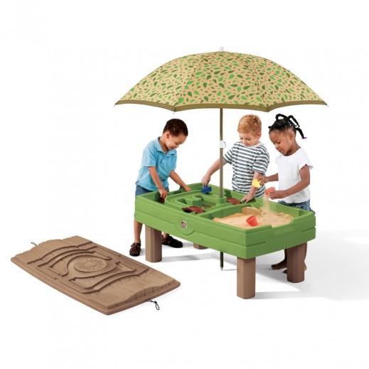 ستيب2 – طاولة الممرات المائية المتتالية  - يتم التوصيل بواسطة شهاليل بعد 2 يوم عمل