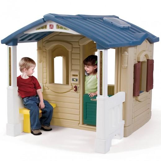 ستيب2 – بيت اللعب الطبيعي امام الشرفه - يتم التوصيل بواسطة شهاليل خلال 3 أيام عمل