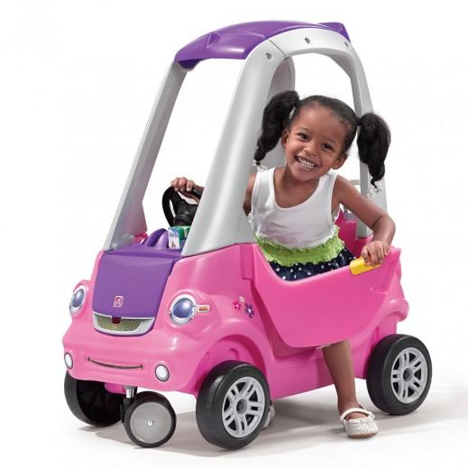 ستيب2 – سيارة الطفل المرح - زهري - يتم التوصيل بواسطة شهاليل خلال 2 أيام عمل
