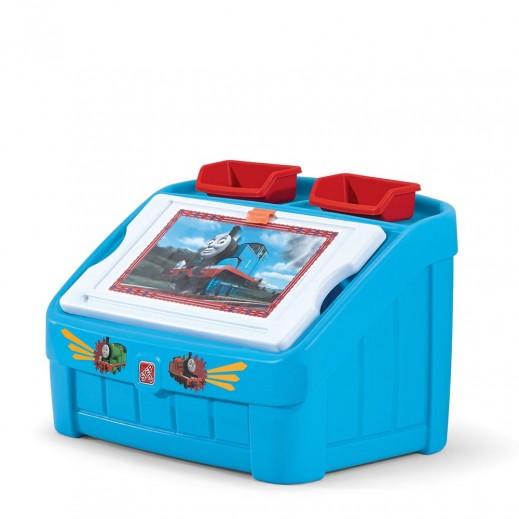 ستيب2 – صندوق الالعاب والتلوين - أزرق  - يتم التوصيل بواسطة شهاليل خلال 2 أيام عمل