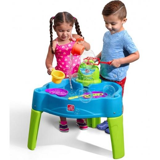 ستيب2 – طاولة اللعب بالماء - يتم التوصيل بواسطة Shahaleel