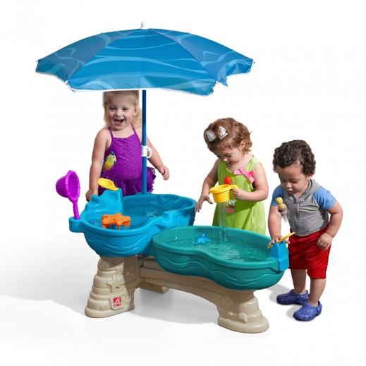 ستيب2 – طاولة اللعب بالماء - حوضين ماء  - يتم التوصيل بواسطة شهاليل خلال 3 أيام عمل