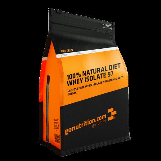 """جو نترشن """"دايت واى إيسوليت 97 """" 100% طبيعى -نكهة الفراولة 1 كجم - يتم التوصيل بواسطة Shredded Diesel"""