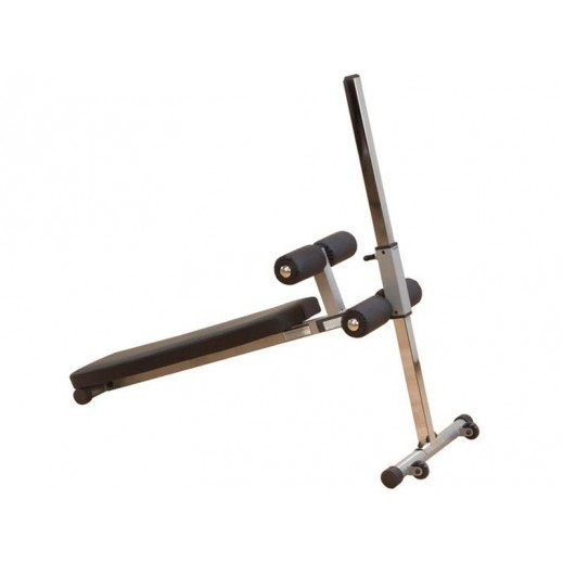 بودي سولد - مقعد قابل للتعديل لتمارين البطن واللياقة البدنية (12 تمرين) - يتم التوصيل بواسطة شارك خلال 2 أيام عمل