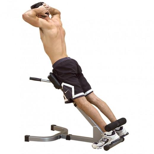 بودى سولد – جهاز تمرين عضلات الظهر - يتم التوصيل بواسطة شارك خلال 2 أيام عمل