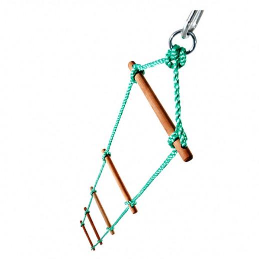 Plum 5 Rung Rope Ladder - يتم التوصيل بواسطة Universal Toys