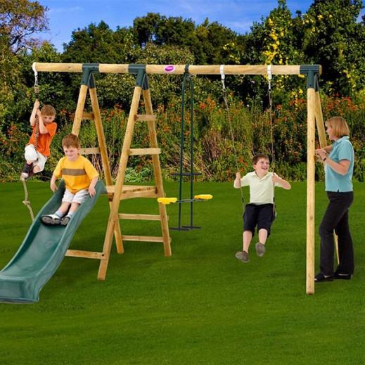 بلوم – مجموعة أرجوحة ميركات الخشبية - يتم التوصيل بواسطة Universal Toys