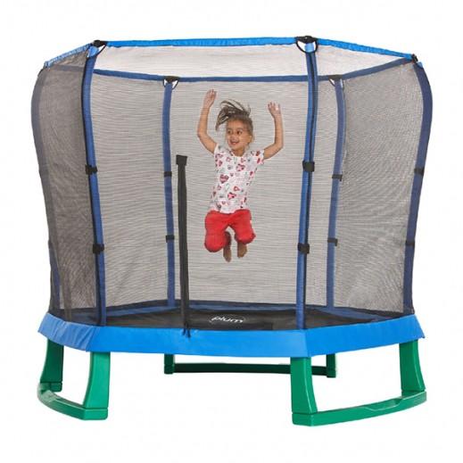 بلوم – نطاطية الأطفال 7 قدم – لون أزرق وأخضر - يتم التوصيل بواسطة Universal Toys