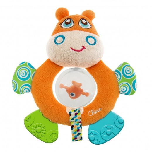 شيكو – خشخيشة اطفال فرس النهر Hippo Toy