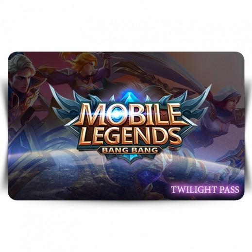 بطاقة فورية للعبة Mobile Legends - Twilight Pass (استلام عبر الإيميل)