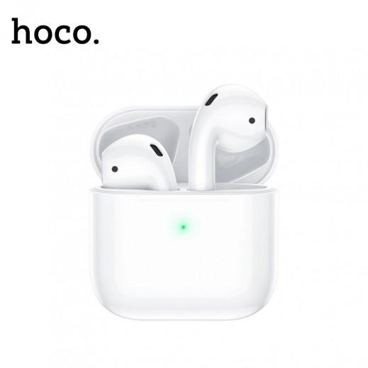 هوكو - سماعة أذن لاسلكية مع علبة الشحن - أبيض