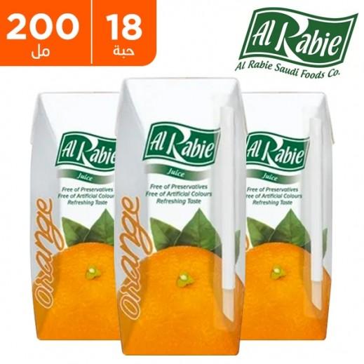 اشتري الربيع عصير البرتقال نكتار 200 مل 18 حبة توصيل Taw9eel Com