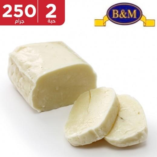 بي & إم – جبنة حلوم 250 جم