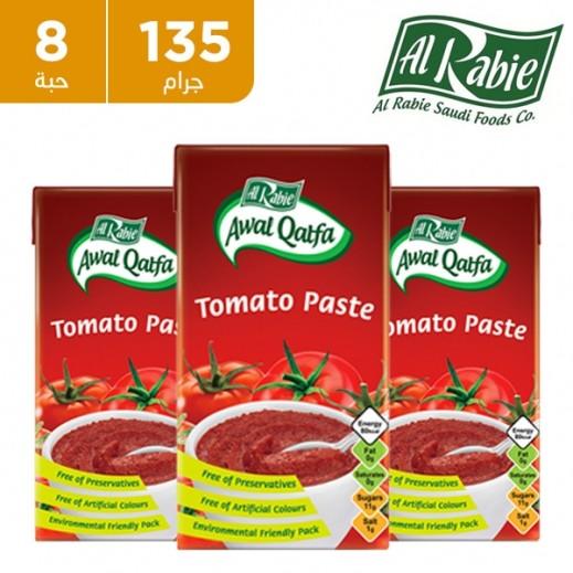 الربيع - معجون طماطم أول قطفة 8 × 135 جم