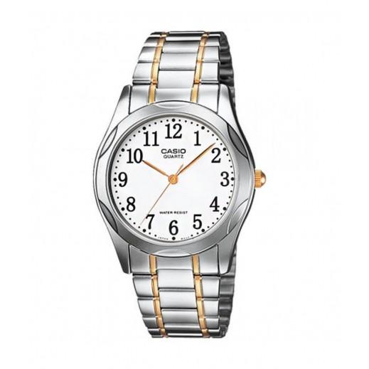 كاسيو - ساعة يد فاشون عقارب للرجال بسوار استانلس - يتم التوصيل بواسطة Veerup General Trading