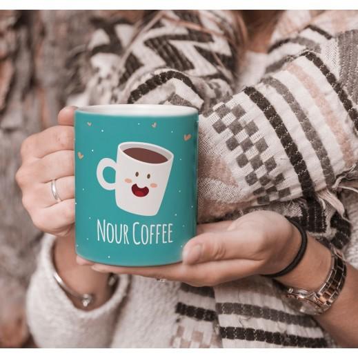 كوب تصميم قهوة مع قاعدة - يتم التوصيل بواسطة Berwaz.com