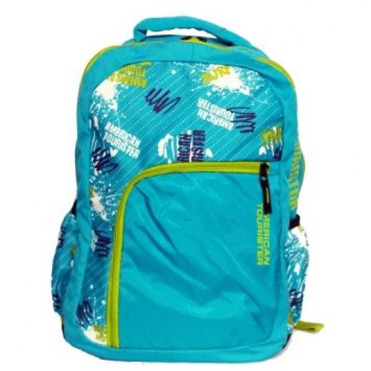 أميريكان توريستر – حقيبة ظهر مدرسية كود 05 – لون فيروزي