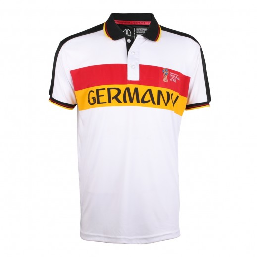 تى شيرت منتخب ألمانيا بولو كاس العالم روسيا 2018 -  (رجالي) مقاس صغير - XXL