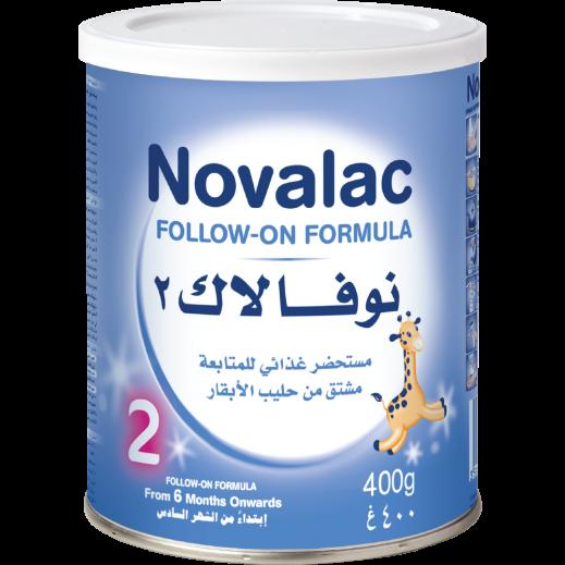 نوفالاك 2 – مستحضر غذائي للمتابعة إبتداءً من الشهر السادس 400 جم
