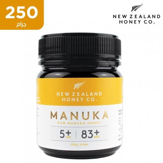مانوكا عسل نيوزيلندا خام 250 جم UMF5+ 83+ MGO