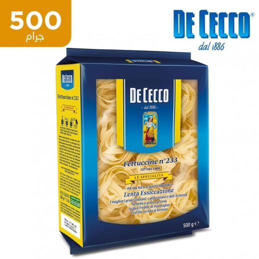 دي سيكو – معكرونة فيتوتشيني 500 جم